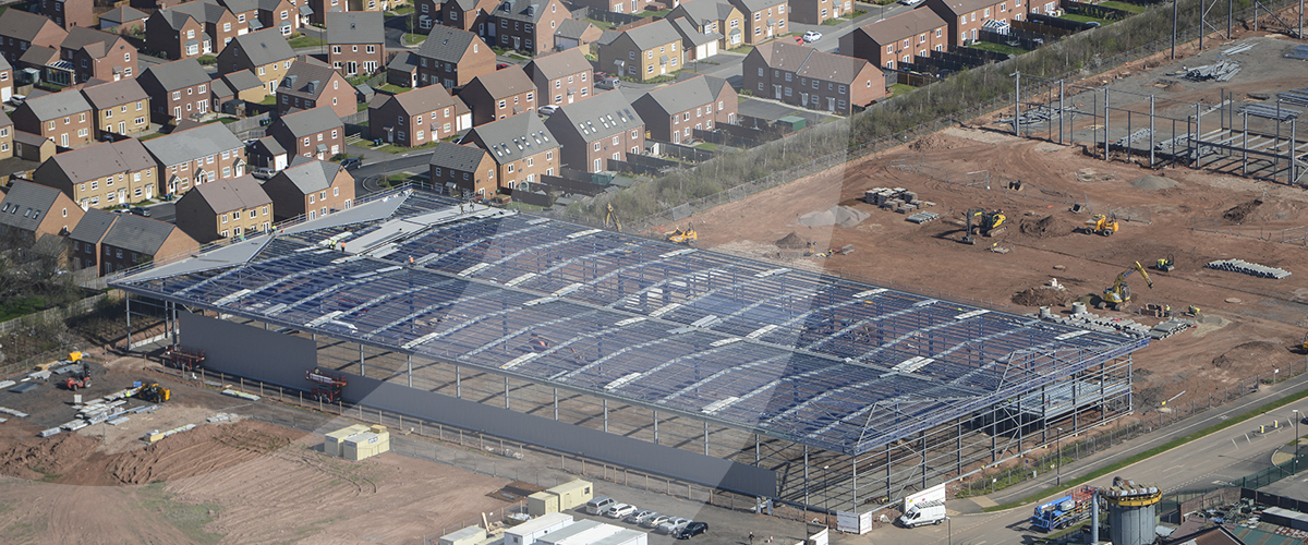 Civil engineering and groundworks contractor provides earthworks and groundworks services at John Sisk and Son's Lyons Park scheme in Coventry, West Midlands