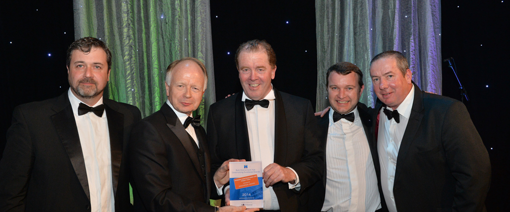 O'Brien Contractors scoops two awards  at Celebrating Construction 2014