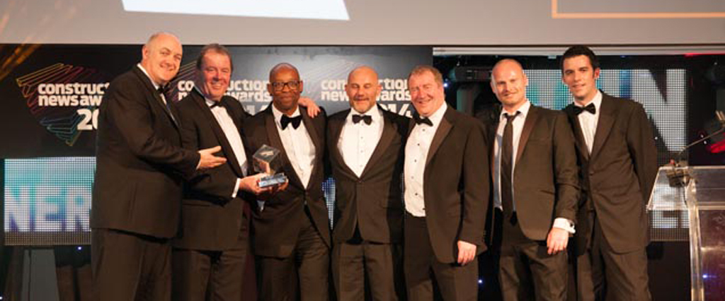 O'Brien Contractors named 'Tomorrow's Company'  in Construction News Awards 2014