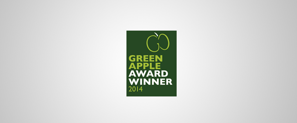 O'Brien Contractors has won a prestigious Green Apple Environment award