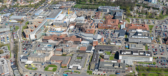 Civil engineering specialist, providing groundworks services for Kier Construction at New Cross Hospital in Wolverhampton, West Midlands