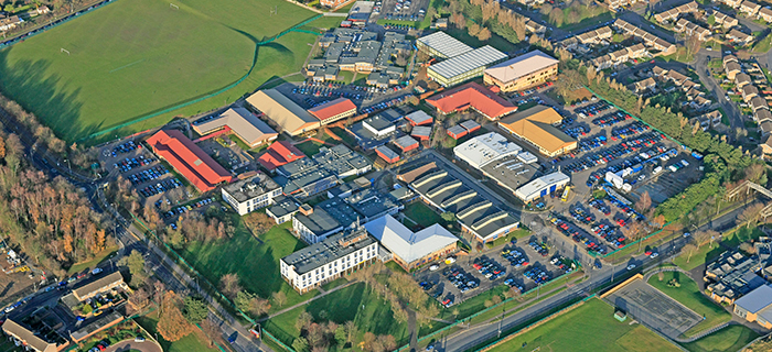 We undertook the section 278 works, earthworks, groundworks and land remediation for Northampton College.