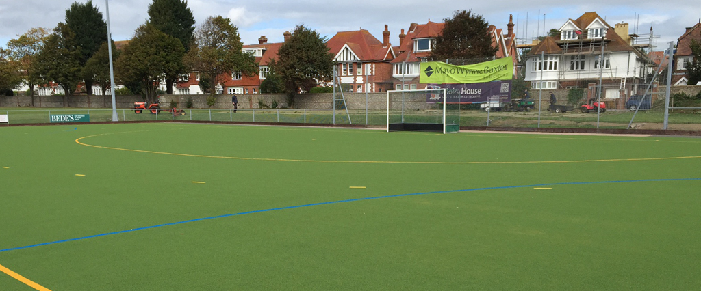 O'Brien Contractors strikes gold with Eastbourne Hockey Club