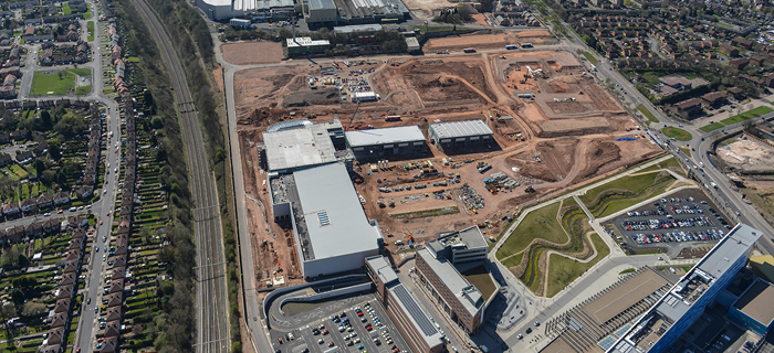 Civil engineering and groundworks company provides earthworks, groundworks and infrastructure services at Morgan Sindall's regeneration of Longbridge town centre in Birmingham, West Midlands