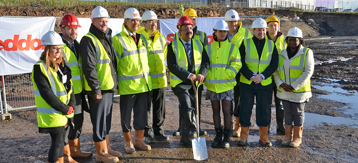 Civil engineering contractor based in the Midlands, provides Seddon Construction with groundworks solutions at Westcliffe Retirement Village, Stoke-on-Trent.