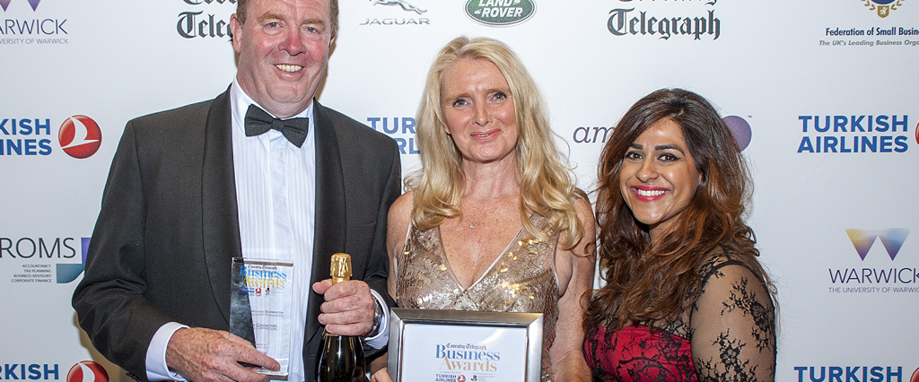 O'Brien Contractors take top accolade at the Coventry Telegraph Business Awards 2015