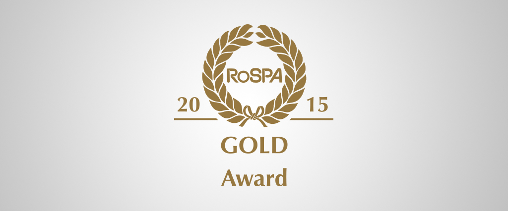 In recognition of our Health & Safety standards, we received the Gold Award during the RoSPA's Occupational Health and Safety Awards in 2014, 2015 and 2016