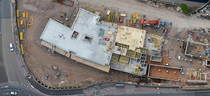 Midlands based civil engineering specialist, providing land remediation, groundworks, enabling works and earthworks services at City Locks in Birmingham, West Midlands