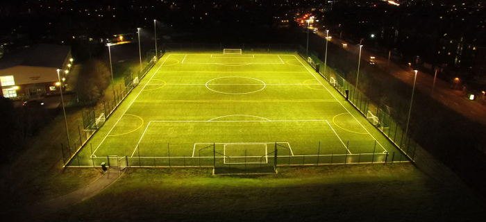 Installation of a 3G synthetic surface for Christ's College Finchley in London by sports pitch construction specialist, O'Brien Sports