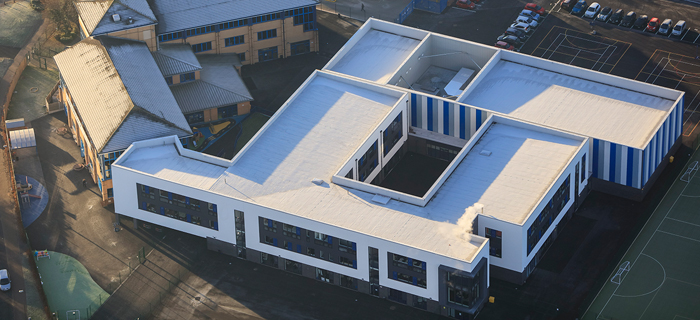 New School Building For Perry Beeches V School In