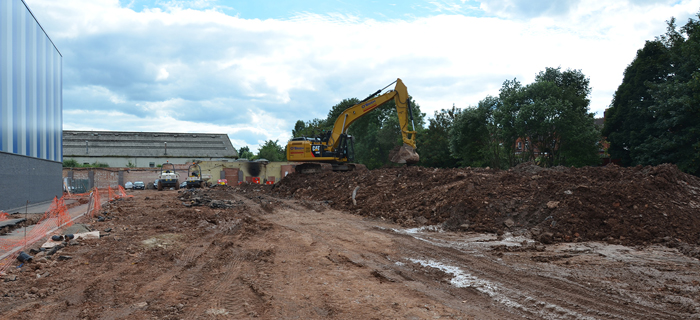 Civil engineering and groundworks contractor provides earthworks and 3G sports pitch installation services at Perry Beeches V School in Birmingham, West Midlands.
