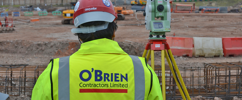 O'Brien Contractors' carbon footprint verified to BS EN ISO 14064-3:2006