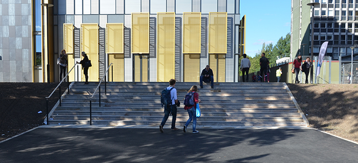 Midlands based civil engineering and groundworks specialist, O'Brien Contractors, has provided design and build services at the University of Birmingham's new library.