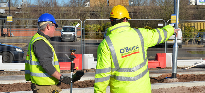 Civil engineering specialist, providing groundworks services and infrastructure works at RG Group's Gallagher Retail Park scheme in the West Midlands.