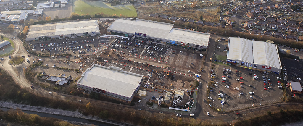O'Brien Contractors win Gallagher Retail Park contract