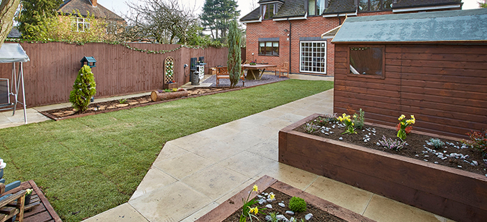 Groundworks and civil engineering specialist, O'Brien Contractors, has proudly supported Kier Construction and Sense with a garden makeover that Alan Titchmarsh would be proud of.