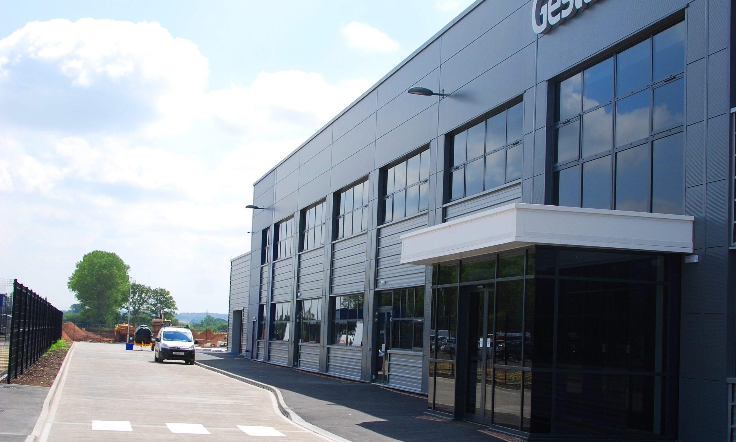 Ge Stamp Plant Facility Near Wolverhampton O Brien