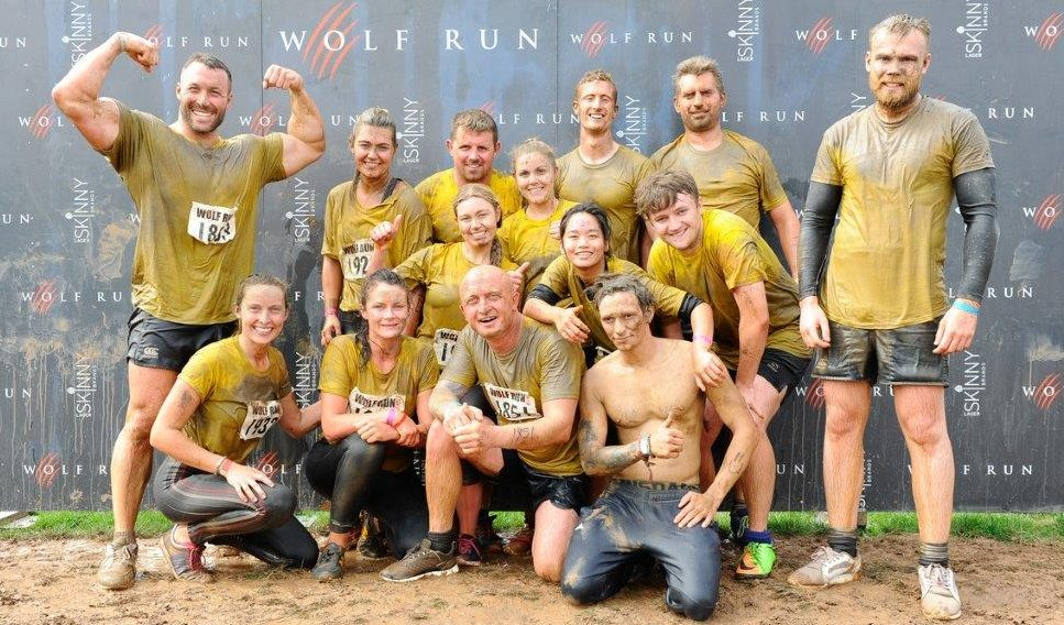 Mud, Mud, Mud and More Mud – O'Brien Charitable Trust's Team Complete the Wolf Run