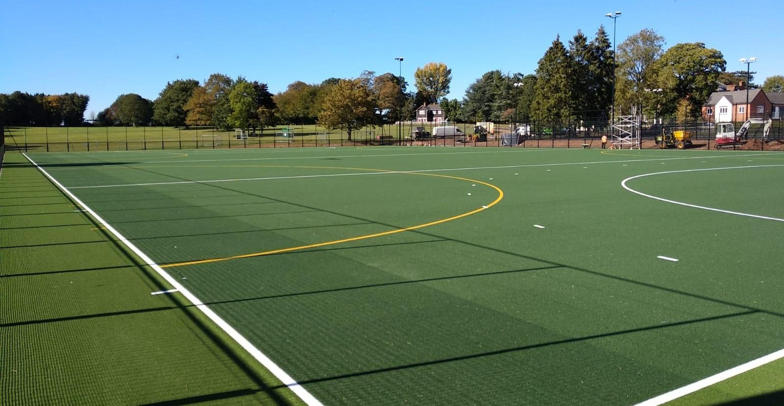 O'Brien Contractors, Continues to be one of only 9 UK Firms to be Certified FIH Field Builders for Hockey Pitches