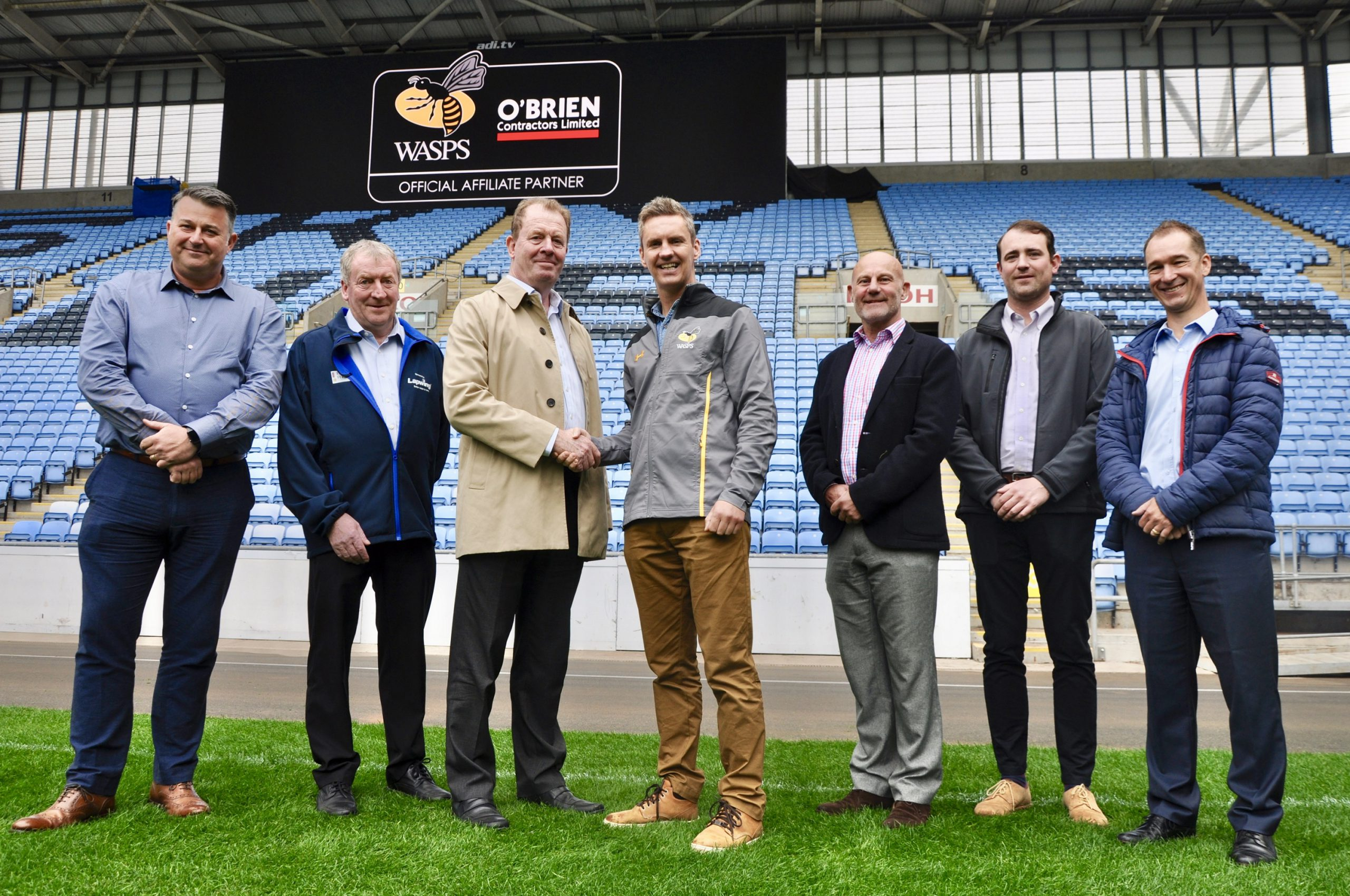 O'Brien Contractors Continue as Wasps Rugby Affiliate Partners for 2019/20 Season