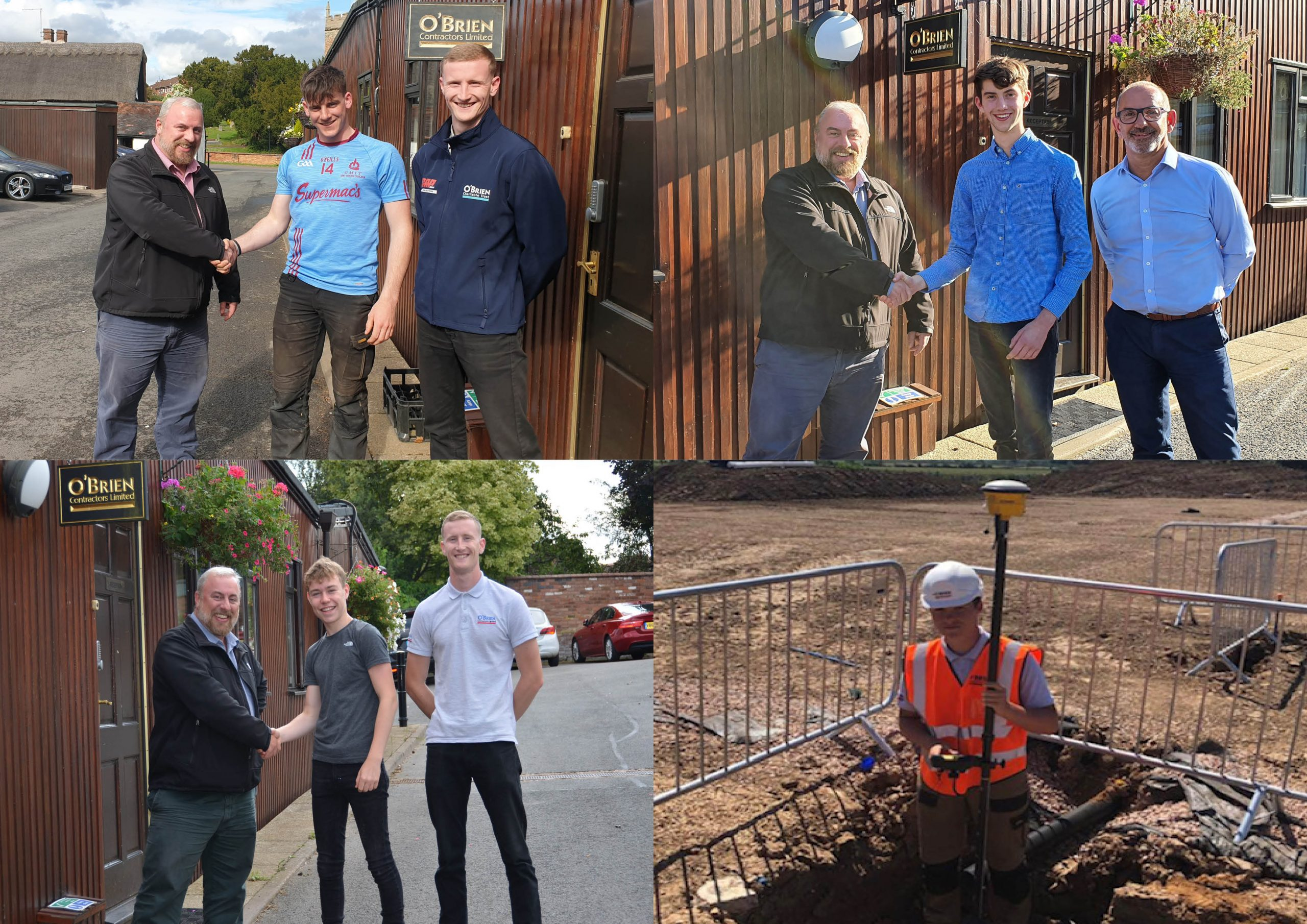 O'Brien and the Next Generation of Construction Workers – 2019 Placements