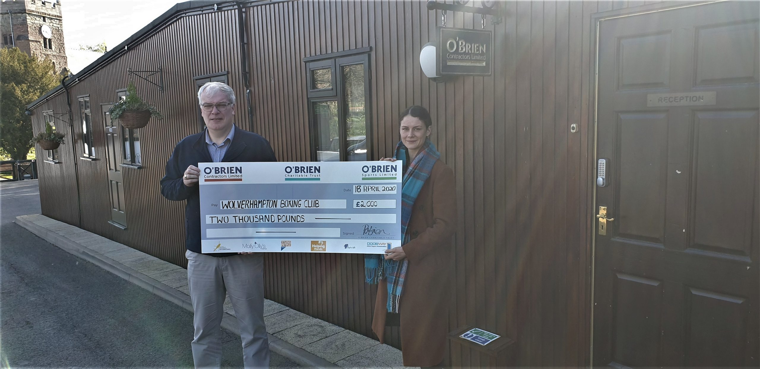 O'Brien Trust Donates to Wolverhampton Boxing Club – Pride of the Black Country