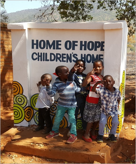 O'Brien Donate £5,000 to the Fantastic Malawi Orphans Home of Hope