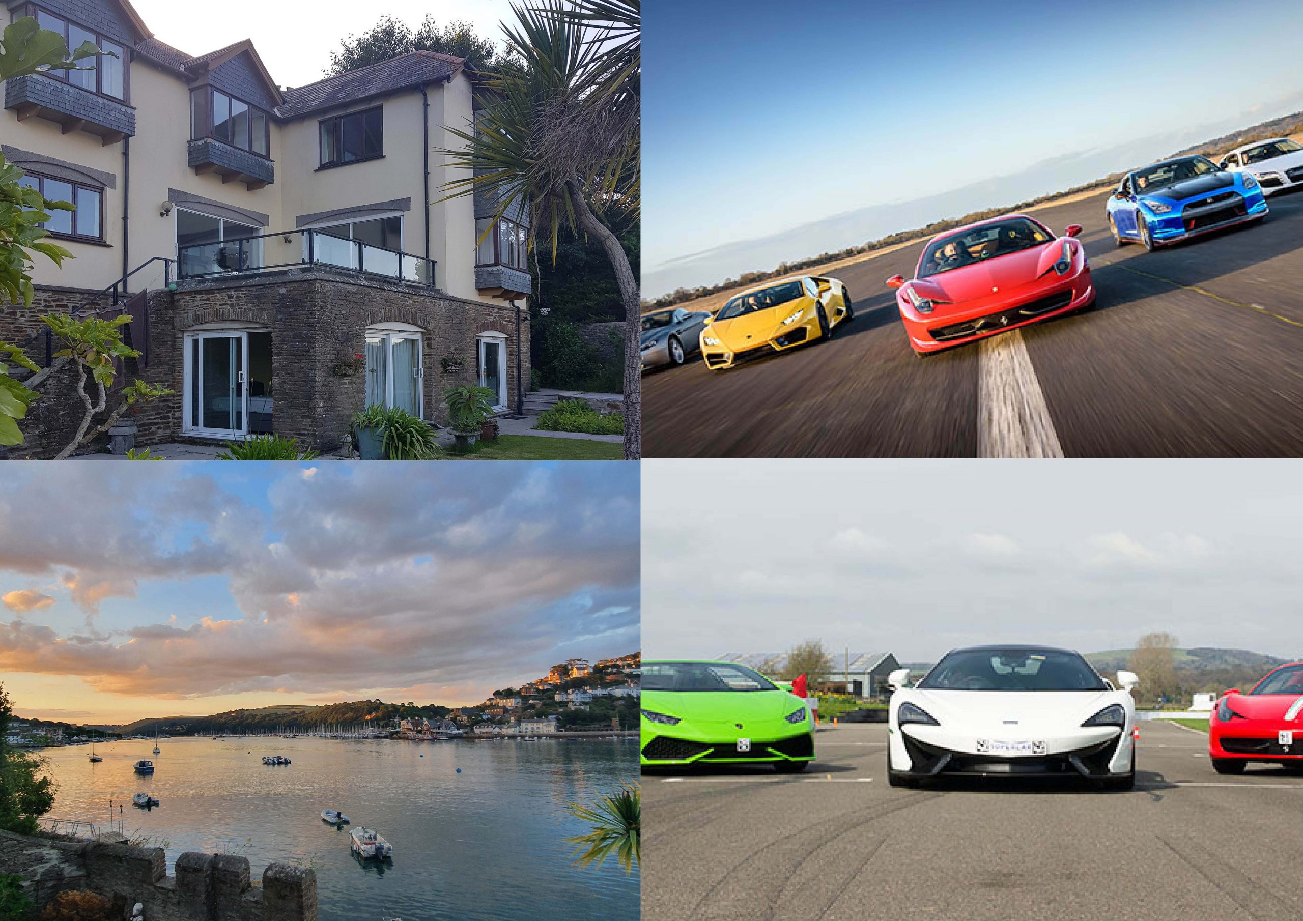O'Brien Trust Charity Raffles – Waterside Holiday Raffle and 6 Supercar Thrill Experience