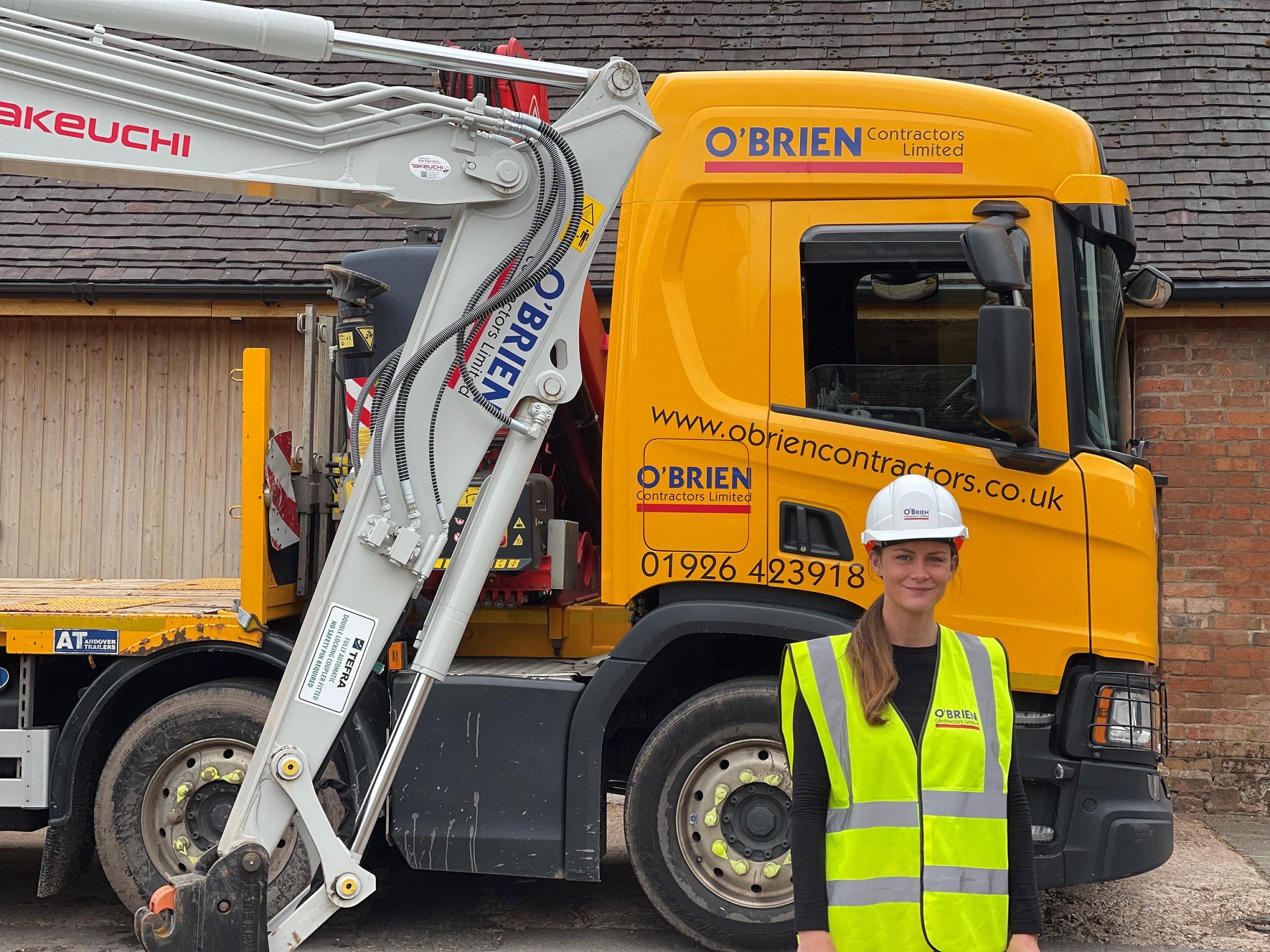 O'Brien Contractors Appoint Net Zero Champion to Achieve Net-Zero Operations.