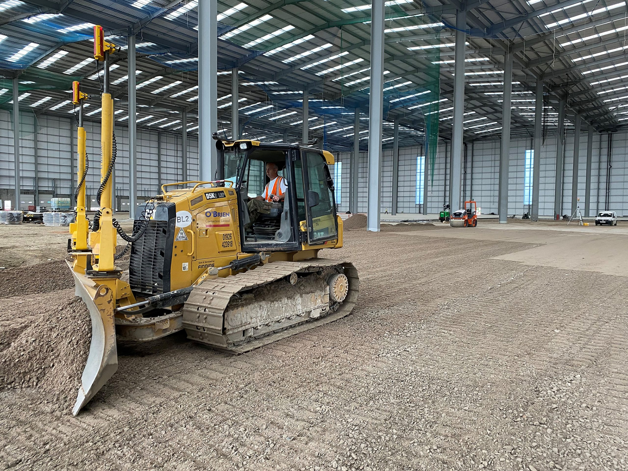 Laser Levelling for Sub-Base Preparation – One of Many Services Provided